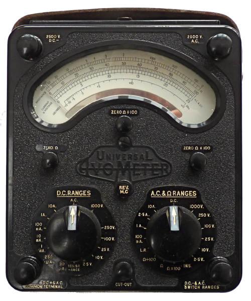avo model 8 universal multimeter rh richardsradios co uk