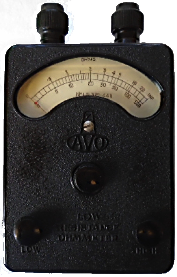 low ohmmeter