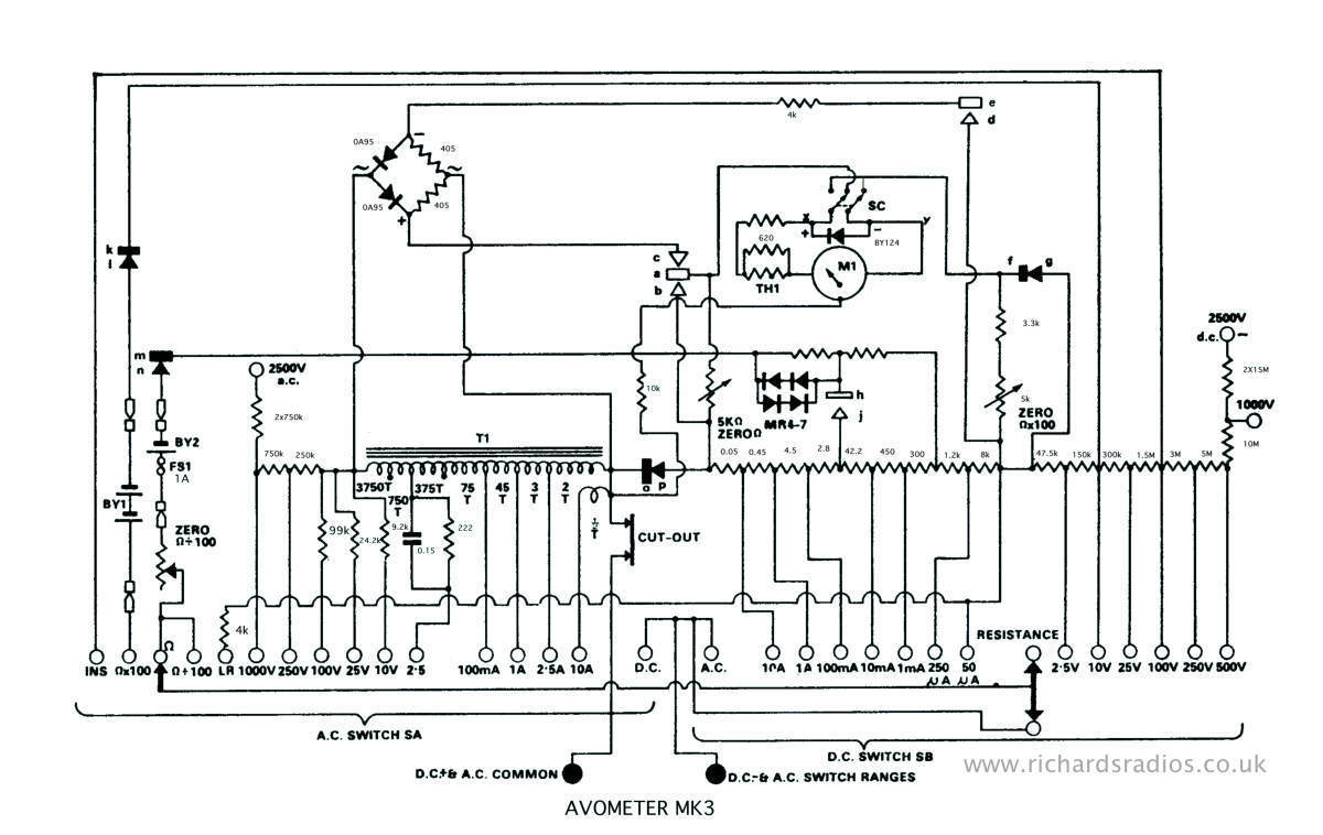 Avo Model 8 Universal Multimeter Computer Hardware Diagram Block Jpg Circuit Mk3 File Click Here For