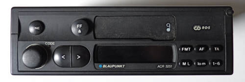 Blaupunkt ACR3251 car radio