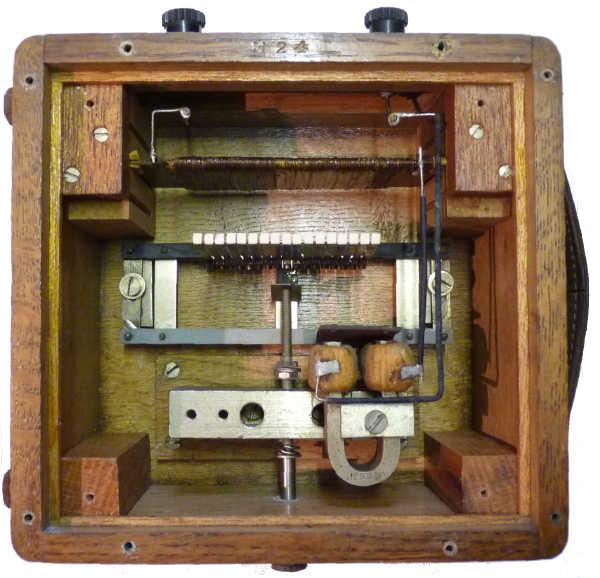 Vibrating Reed Meter : Elliott frequency meter