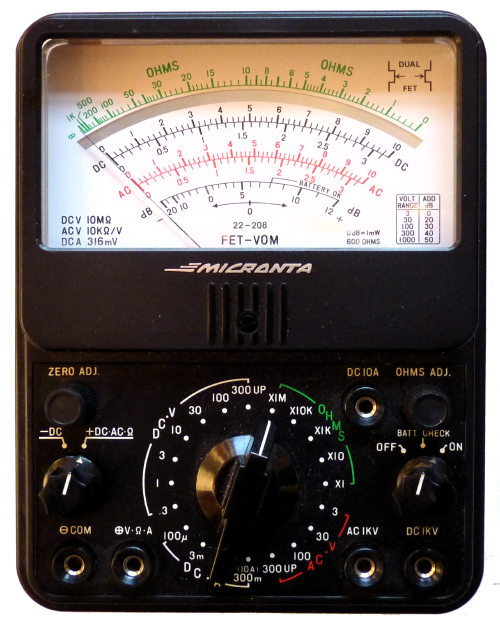 micronta fet multimeter rh richardsradios co uk radio shack multimeter manual micronta user manual
