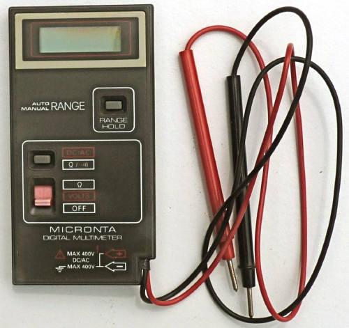 tandy dmm rh richardsradios co uk Micronta Digital Multimeter Micronta Digital Multimeter